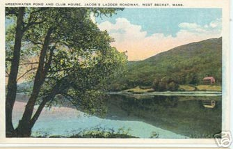 Greenwater Pond, West Becket